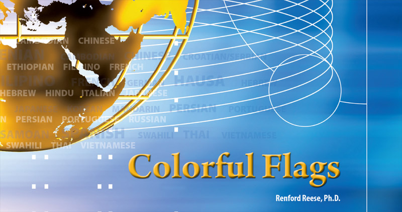 Colorful Flags Booklet Coverpage